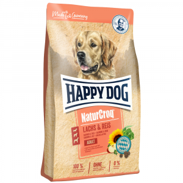 Happy Dog NaturCroq Salmone e riso